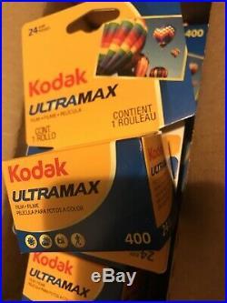 100 Rolls Kodak Ultramax 400 35mm Film GC 135-24 Exp GOLD Color Print 2022