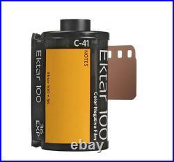 10 Rolls Kodak Ektar 100 Color Negative Print 35mm Film 36 exp