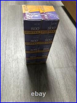 10 x Kodak Professional Portra 800 ASA 35mm Colour Print Film 135-36 Exp. 05/22