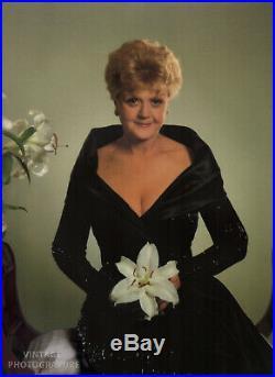 1991 Vintage 16X20 ANGELA LANSBURY Actress Film Theater YOUSUF KARSH Photo