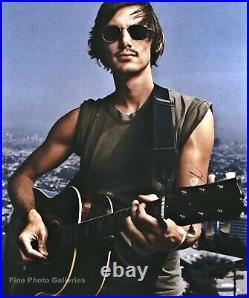 2003 Movie Actor LUKAS HAAS Playing Guitar Musician Photo Engraving Art 16X20