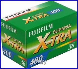 20 Rolls Fujifilm Superia X-tra CH 400 ISO 36 Exp. 35mm Color Print Film FRESH