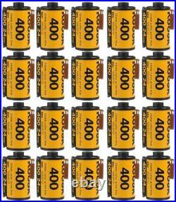 20 Rolls Kodak UltraMax GC 400 135-24 Exp. Color Print 35mm Film