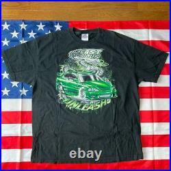 2Fast 2Furious UNLEASH Big print T-shirt Size 2XL Color black vintage movie mens