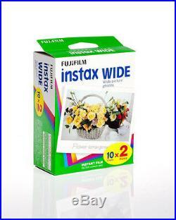 300 Prints Fuji Instant Wide Color Film for Fujifilm Instax 200, 210, 300 Camera