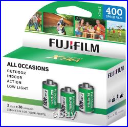 36 Rolls Fujifilm Superia X-tra CH 400 36 Exp. 35mm Color Print Film (12 packs)