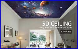 3D Colorful Light D88 Window Film Print Sticker Cling Stained Glass UV Block An