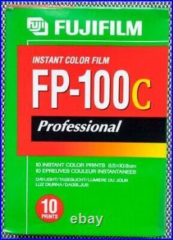9x Fujifilm Instant Color Film FP-100C ISO 100 Sofortbildfilm 10 Prints