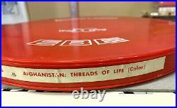 Afghanistan Threads of Life 16mm Color Film Print Irwin Dermer Documentary 1981