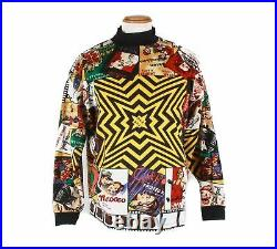 Authentic Versace Jeans Couture rare movie print THE END Sweatshirt