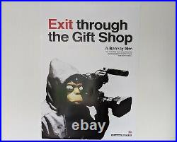 Banksy Exit Through The Gift Shop UK movie lithograph circa 2010 50cmx70cm