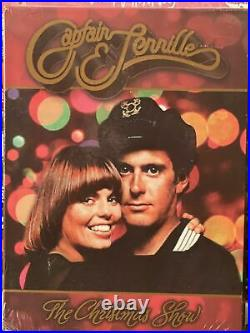 Captain & Tennille Christmas Show DVD Color VERY RARE -Out Of Print NEW