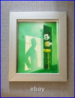 Colour Photo Of Mickey & Walt's Shawdow Signed By Ralph Kent And Mark McIntyre