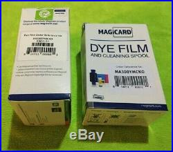 Dye Film Color Ribbon, 300 prints LOT OF 50 (GENUINE MAGICARD)(MA300YMCKO) NEW