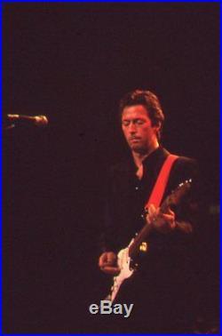 Eric Clapton, ARMS Benefit, 1983, Never Printed! Original 35mm color film