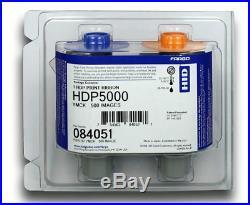 Fargo 84051 YMCK Full Color Ribbon with Resin HDP5000 500 Prints Original USA