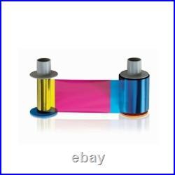 Fargo YMCK Full Colour Ribbon with Black Panel for HDP5000 500 Prints