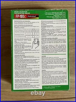 Fujifilm FP-100C Professional Instant Colour Film Pack Of 2 Boxes -20 Prints