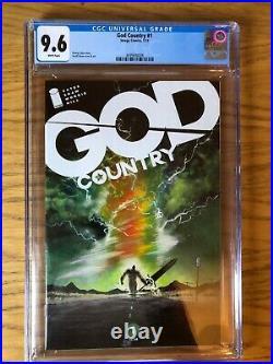 GOD COUNTRY #1 CGC 9.6 Image Comics 1st Print Donny Cates Legendary Movie