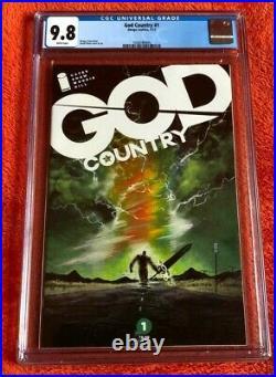 GOD COUNTRY #1 CGC 9.8 Image Comics 1st Print Donny Cates Legendary Movie