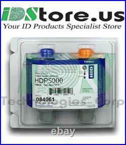 Geniune Fargo HDP5000 84061 Color UV Ribbon YMCFK 500 prints Sealed New