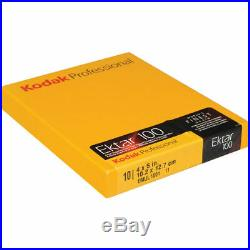 Kodak 4 x 5 Ektar 100 Color Negative (Print) Film (10 Sheets)