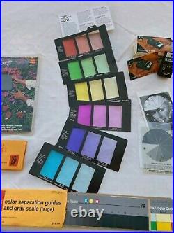 Kodak Color Print viewing filter kit y Set Fotografía Projection Print Scale
