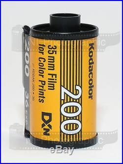 Kodak Colorplus 200 35mm 36exp 5 Rolls Cheap Colour Print Film Free Postage
