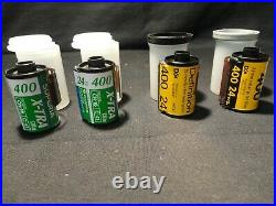 LOT 35mm Kodak Fuji High Definition 400 Color Print Film 24 -36 Exposures CN41