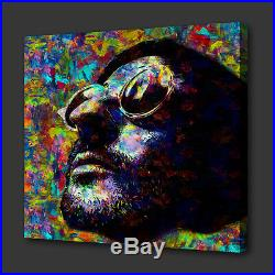 Leon The Professional Film Acrylic Colourful Wall Art Picture Canvas Print