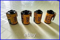Lot of 23 rolls of Kodak Expired Color Print Film various types