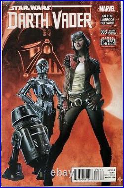 Marvel Star Wars Darth Vader #3 2nd Print (2015) 1st Appearance Doctor Aphra