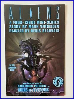 PREDATOR #1 -4 1st PRINT DERIVED FROM THE MOVIE $2.25 1989 DARK HORSE COMIC BOOK