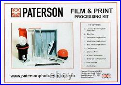 Paterson Film And Print Processing & Developing Kit
