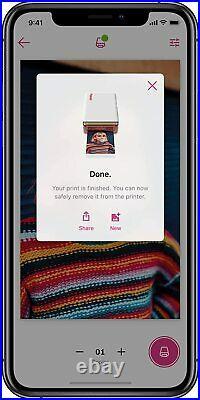 Polaroid Hi-Print 2x3 Pocket Photo Printer 6089 HiPrint Paper Cartridge Bundle
