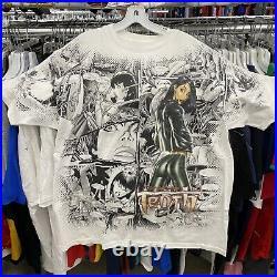 Rare Vintage 90s The Tenth Comics All Over Mega Print Shirt XL