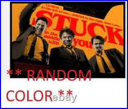 Reservoir Dogs STUCK Movie Poster Giclee Print Art 1/1 Random Color 36x24 Mondo
