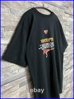 SUNTASK Big print T-shirt Jurassic Park Size M Color black 1992 vintage Cotton