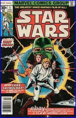 Star Wars #1 (FN-)`77 Thomas/ Chaykin (1st Print)
