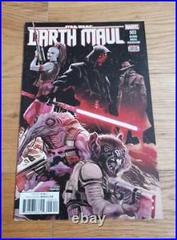 Star Wars Darth Maul 3 2nd Print Variant 1st Cad Bane Cover Hot HTF Rare Book