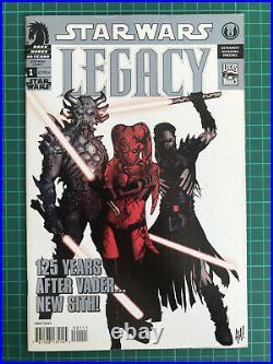 Star Wars Legacy Vol. 1 #1 Adam Hughes 3rd Print Dark Horse Comics 2006
