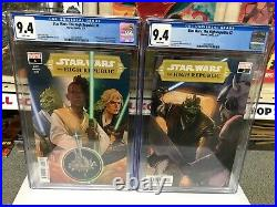 Star Wars The High Republic #1 + #2 CGC 9.4 1st Print Marvel Comics
