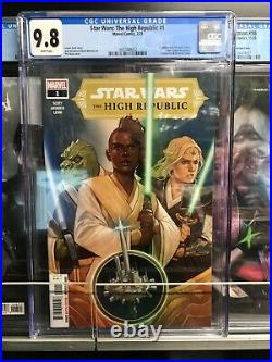 Star Wars The High Republic #1 CGC 9.8 1st Print Marvel Comics