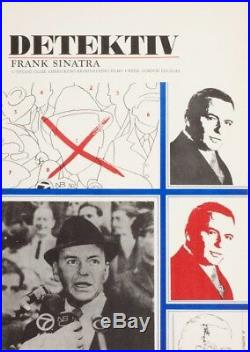 THE DETECTIVE Frank Sinatra Vintage Movie Poster 1960s Poster Art Large A1 Print