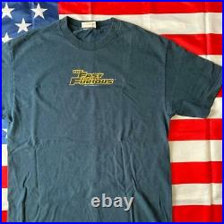 THE FAST AND THE FURIOUS Big print T-shirt Size XL Color black vintage movie