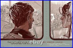 The Graduate Movie Film VARIANT Color Poster Screen Print Art 24x36 Mondo