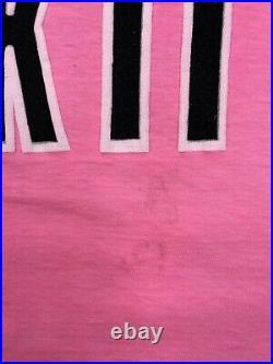 Vintage Spring Fcking Break Palm Springs 1990 3D Print T-Shirt Size Large